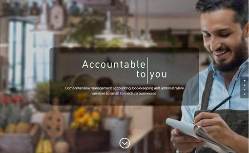 Accountable to you website