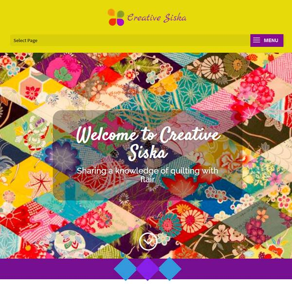 Creative Siska website